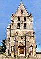 31 - Le Burgaud - Façade et clocher de l'église Saint-Jean-Baptiste.jpg