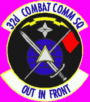 32d Combat Communications Squadron - 32d Combat Communications Squadronemblem