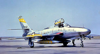 32d Intelligence Squadron - Image: 32d Tactical Reconnaissance Squadron Republic RF 84F 25 RE Thunderflash 52 7292