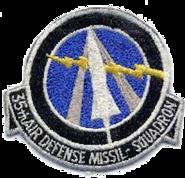 35th Air Defense Missile Squadron - ADC - Emblem