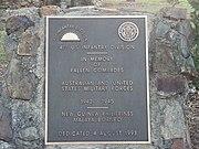 41st Infantry Division plaque