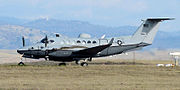 427th Reconnaissance Squadron MC-12 10-0728