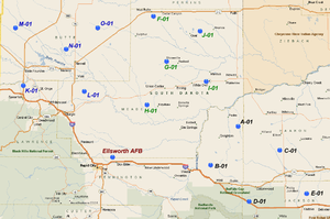 44th Missile Wing - LGM-30 Minuteman Missile Alert Facilities