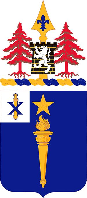 46th Infantry Regiment (United States) - Coat of arms