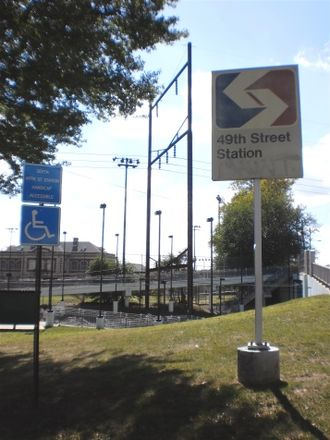49th Street station (SEPTA Regional Rail) - Entrance to the 49th Street Station