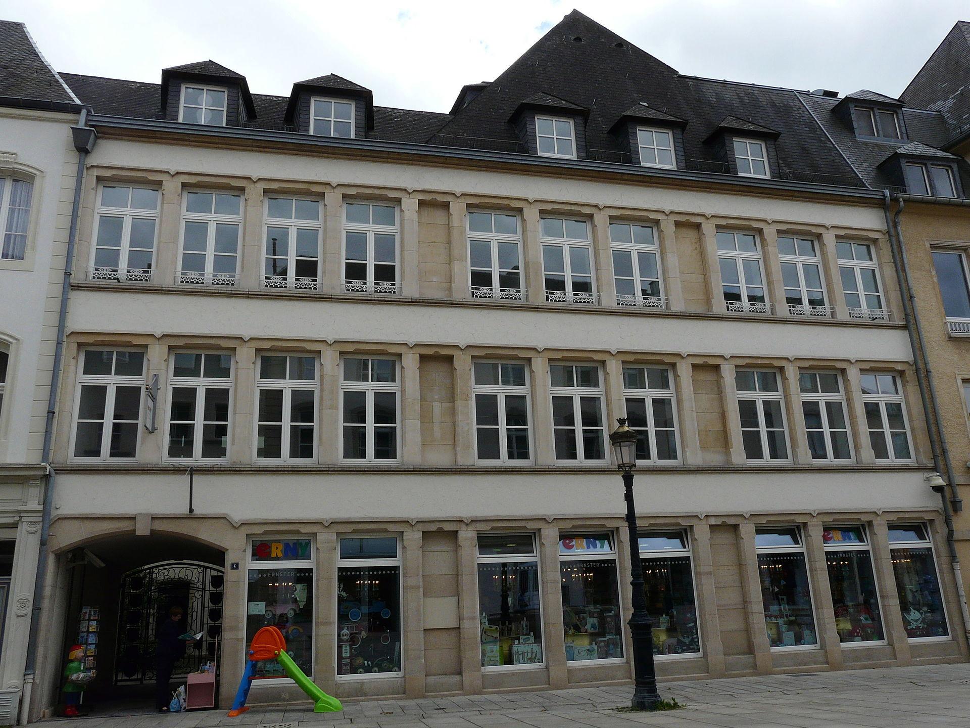 Maison de raville wikipedia for Maison moderne luxembourg wikipedia