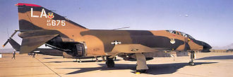 58th Special Operations Wing - 550th Tactical Fighter Training Squadron McDonnell F-4C-21-MC Phantom 63-7675, Luke AFB, Arizona, 1972