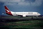 66ab - Qantas Boeing 737-476, VH-TJH@SYD,14.08.1999 - Flickr - Aero Icarus.jpg