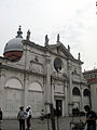7270 - Venezia - Mauro Codussi, Santa Maria Formosa - Facciata laterale con cenotafi dei Cappello - Foto Giovanni Dall'Orto, 10-Aug-2007.jpg
