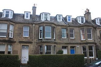 Ben Peach - Peach's modest mid-terraced villa at 72 Grange Loan, Edinburgh