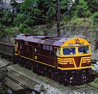 Public Transport Commission - Comeng built 80 class in 1978