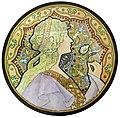 81 - Rêverie - Peinture sur porcelaine - Jane Atché (dessin) Evalina Guenthoer (peinture) - Musée du Pays rabastinois.jpg