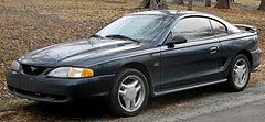 Ford Mustang GT z lat 1996–1998
