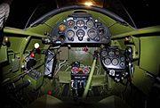A-17A cockpit - USAFM