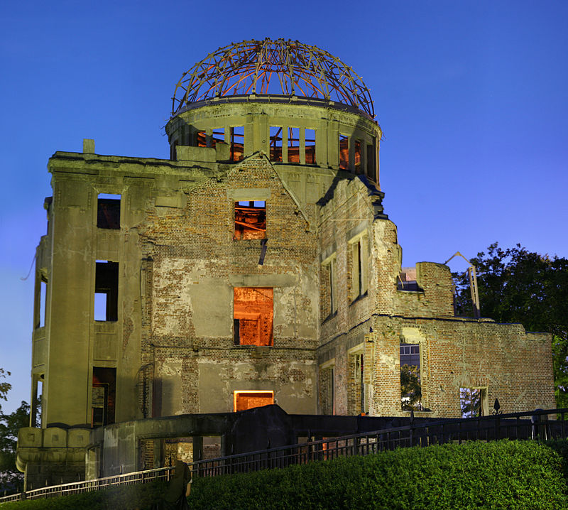 Hiroshima Peace Memorial - Atomic Bomb Dome -