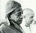 A. C. Bhaktivedanta Swami Prabhupada and Kirtanananda Swami.jpg