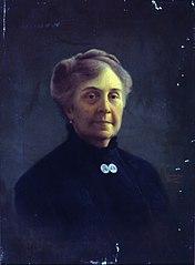 Retrato de Dona Escolástica Melchert da Fonseca, 1913