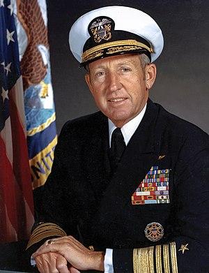 Thomas B. Hayward - Admiral Thomas B. Hayward, 21st Chief of Naval Operations