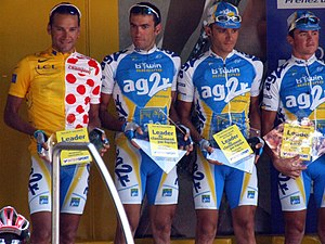 AG2R La Mondiale - Ag2r team photo at sign in during stage 11 of the 2006 Tour de France
