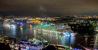 AIDA Cruises - AIDA 825th Harbour anniversary in Hamburg
