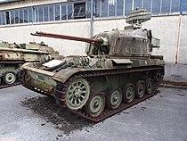 AMX-13 DCA bi-tube, Musée des Blindés, France, pic-02.JPG