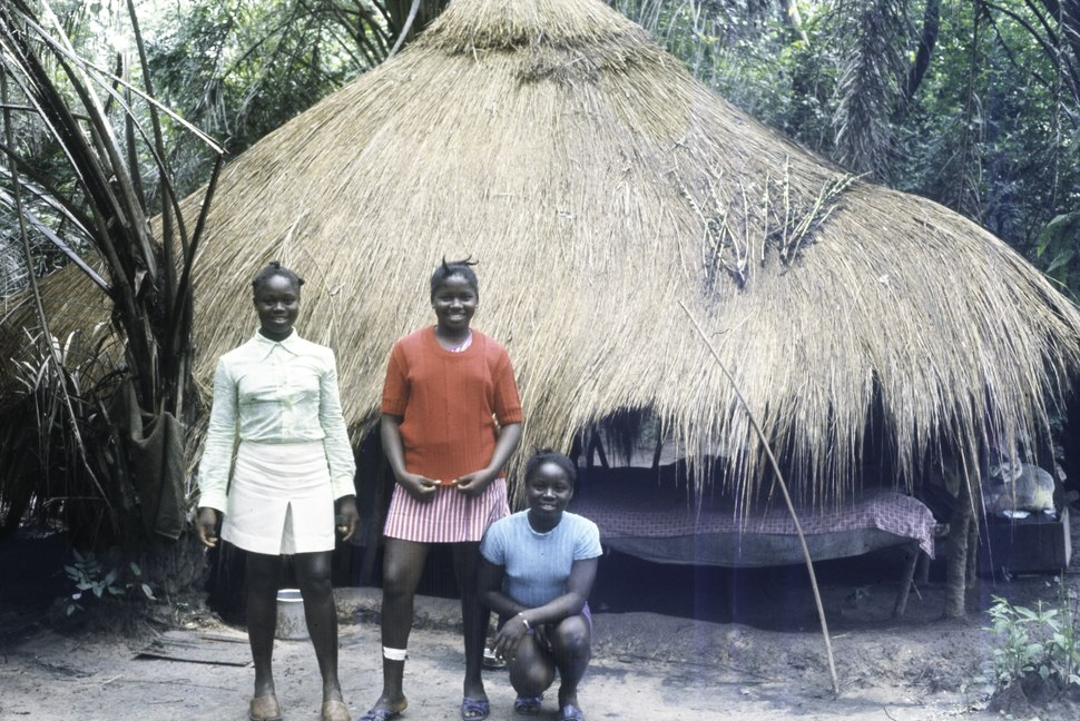 ASC Leiden - Coutinho Collection - D 33 - Hermangono, Guinea-Bissau - Pupils at the northern front - 1974