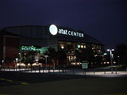 The AT&T Center is home to the 4-time NBA champions, the San Antonio Spurs.