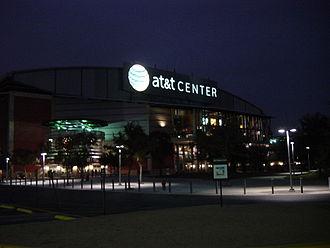 AT&T Center - Image: ATT Center