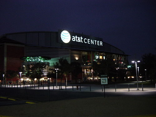 The AT&T Center, home of the NBA's Spurs ATTCenter.jpg