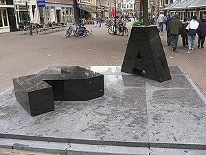 Marinus Boezem - AZ (memorial for Lennaert Nijgh), 2007, Haarlem