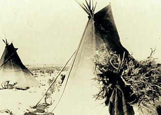 Pahvant - A Pahvant Ute at Kanosh, Utah in 1883