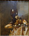 A Roemer with Grapes, a Pewter Plate and a Roll, by Abraham van Beyeren, Netherlands, 1690, oil on panel - Blanton Museum of Art - Austin, Texas - DSC07822.jpg