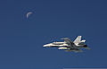 A Royal Canadian Air Force CF-18 Hornet aircraft flies over Alaskan airspace Aug. 28, 2013, during Vigilant Eagle 2013 130828-O-ZZ999-006-CA.jpg