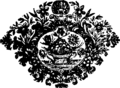 A compleat universal history, of the several empires, kingdoms, states etc Fleuron T114404-25.png