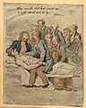 A group of doctors and medical students surround a dying pat Wellcome V0011052.jpg