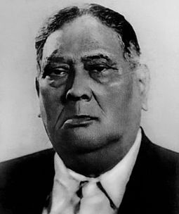 A. K. Fazlul Huq, known as the Sher-e-Bangla or Tiger of Bengal, was the first elected Premier of Bengal, leader of the K. P. P. and an important ally of the All India Muslim League. A k fazlul hoque.jpg