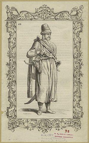 Kingdom of Tlemcen - A man of Tlemcen