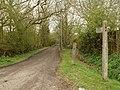 A public bridleway linking Broomwood Lane with Goatsmoor Lane - geograph.org.uk - 748548.jpg