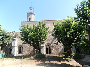 La Celle, Var - The church of La Celle