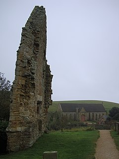 Abbotsbury Abbey Benedictine abbey in Dorset