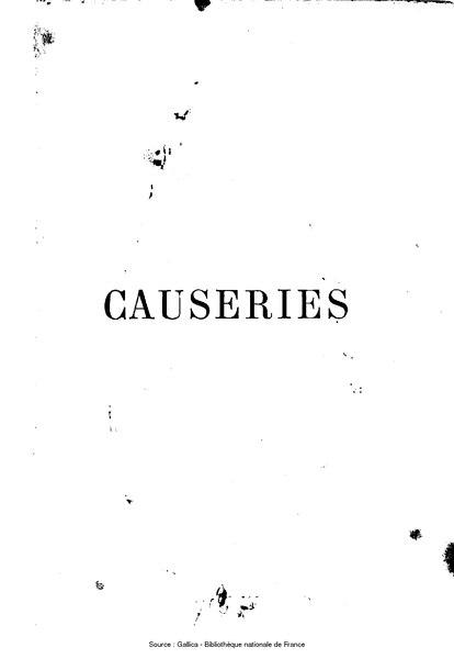 File:About - Causeries, deuxième série.djvu
