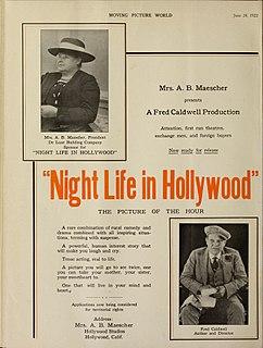<i>Night Life in Hollywood</i> 1922 film