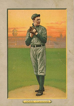 Addie Joss' perfect game - Addie Joss threw the 4th perfect game in MLB history on October 2, 1908.