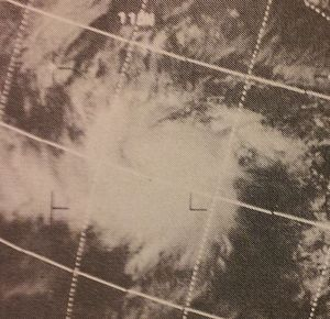 1970 Pacific hurricane season - Image: Adele Jun 119702106z