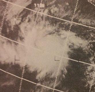 1970 Pacific hurricane season - Image: Adele Jun 119702106z
