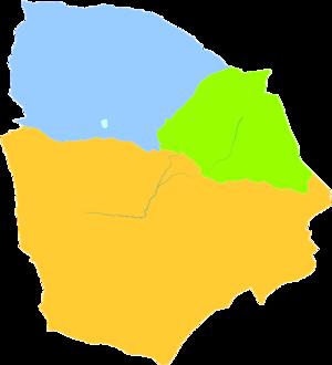 Hami - Image: Administrative Division Hami