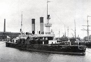 Russian coast defense ship <i>Admiral Ushakov</i> Admiral Ushakov-class coastal defense ship