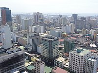Aerial view of Binondo Chinatown business district in Binondo, Manila.jpg