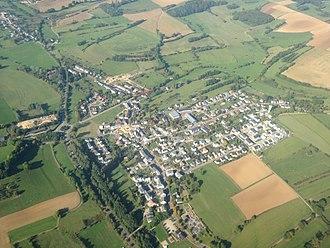 Reckange-sur-Mess - Aerial view of Reckange-sur-Mess
