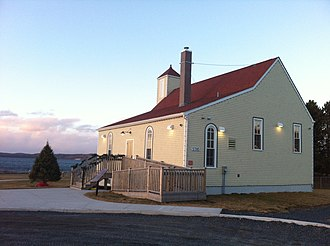 Black Canadians - Africville Church (est. 1849), reconstructed in 2011 as part of the government's Africville Apology